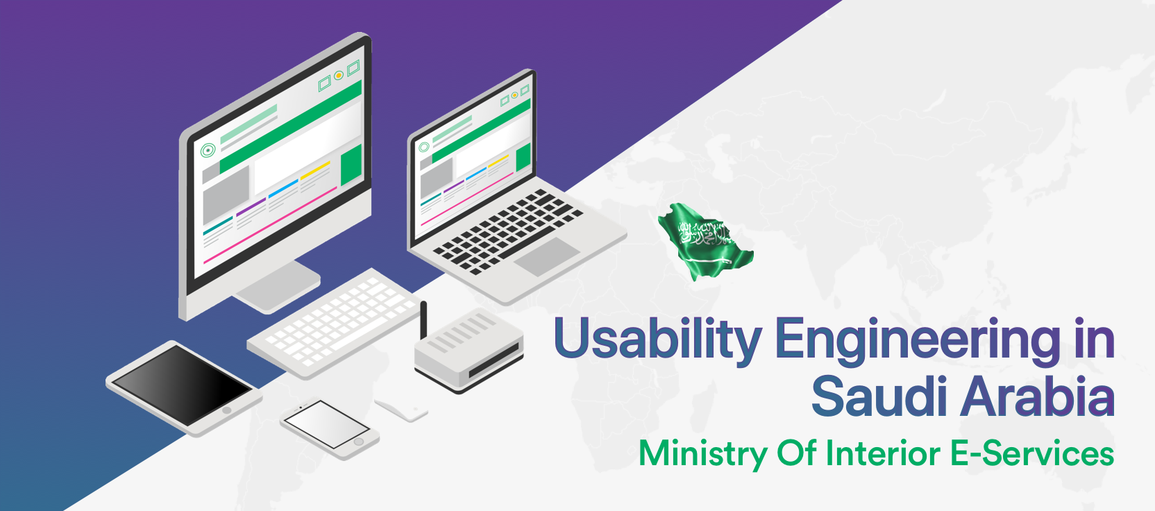 Usability Engineering In Saudi Arabia: Ministry Of Interior E Services