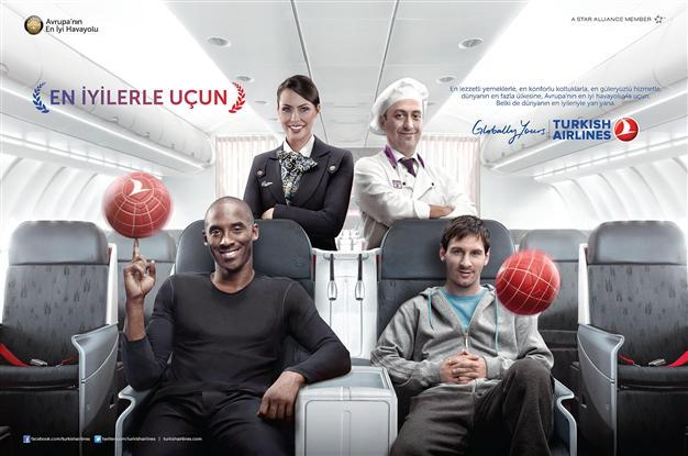 Turkish Airlines Celebrity Ad